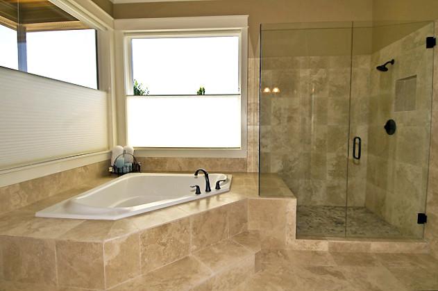 travertin salle de bain